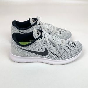 "Nike ""Free Run"" grey and black sneakers. Like New!"